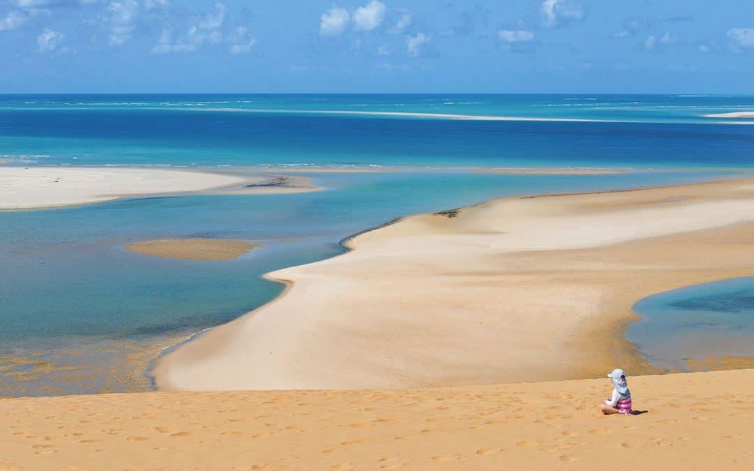 foto playa islas bazaruto mozambique